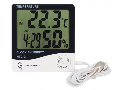 Termohigrómetro Digital Con Sensor CG INSTRUMENTS