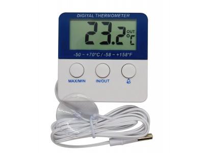 Termómetro Digital Nevera con Alarma